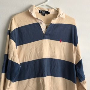 Vintage Ralph Lauren rugby long sleeve polo
